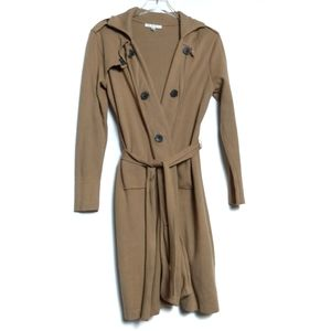 CAbi Knit Cardigan Trench Sweater